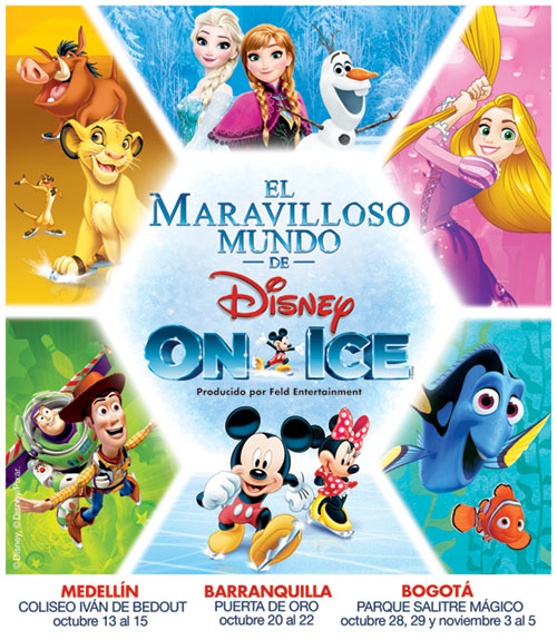 El Maravilloso Mundo de Disney On Ice
