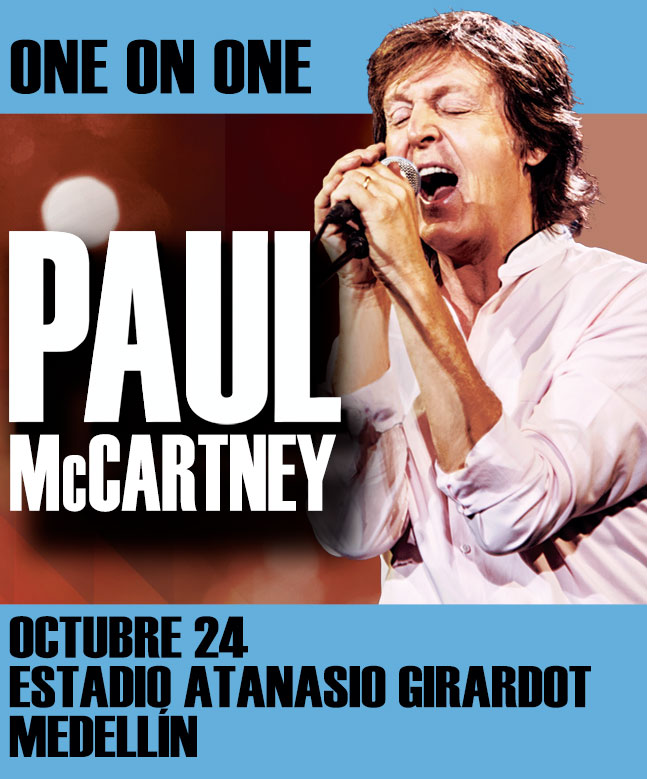 Paul McCartney en Colombia